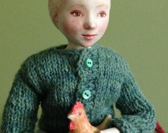 Gallina Art Doll
