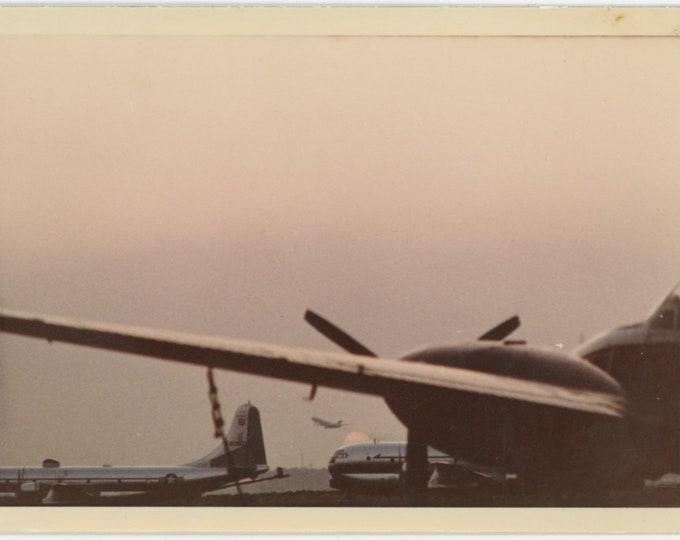 Stratocruisers: Vintage Snapshot Photo [85675]