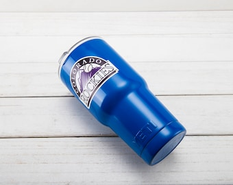 Colorado Rockies YETI Cup  Colorado Rockies Cup Colorado Rockies Birthday Colorado Rockies Gift Colorado Rockies Party Colorado Rockies