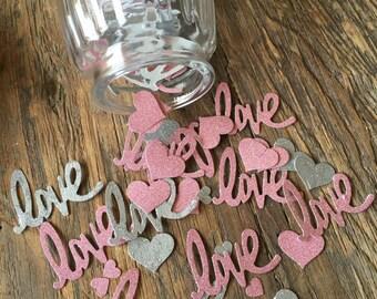 Love & Hearts Confetti