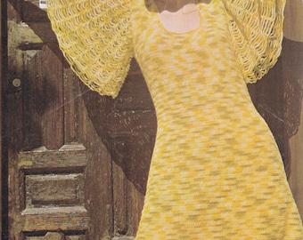 PDF crochet dress vintage crochet pattern pdf INSTANT download butterfly dress pattern only pdf