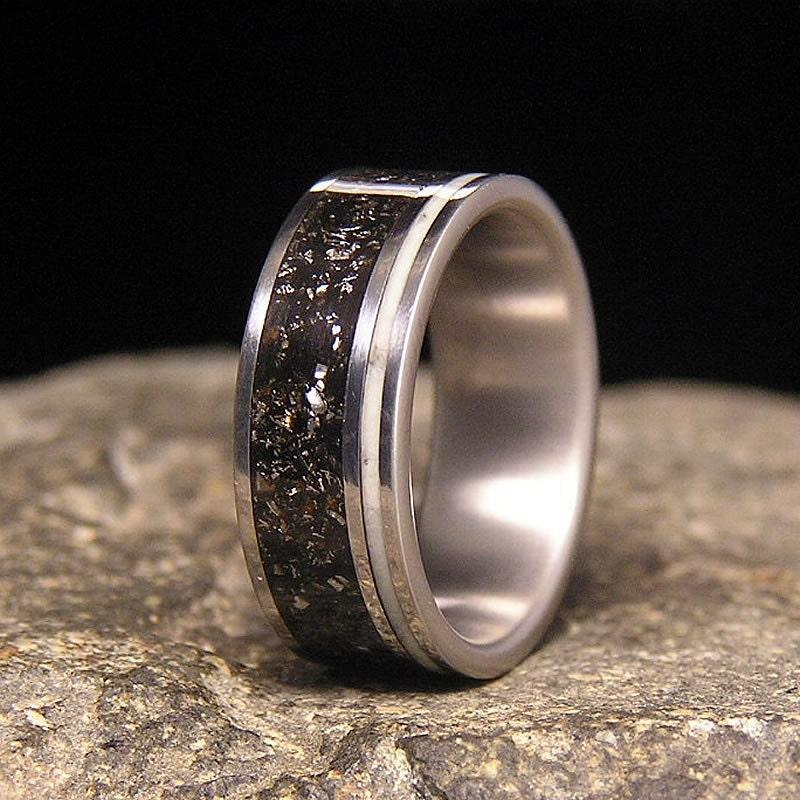 Meteorite Ring Patrick Adair