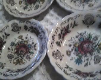 4 Myotts Boquet Dessert Bowls