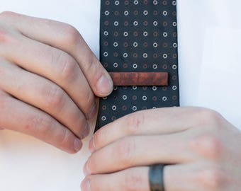 Wood Tie Clip - Lacewood