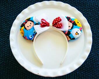 Mickey Mouse Ears, Mickey Ears Headband, Disney Tsum Tusm, Minnie Mouse Ears, Minnie Ears, Disney Ears