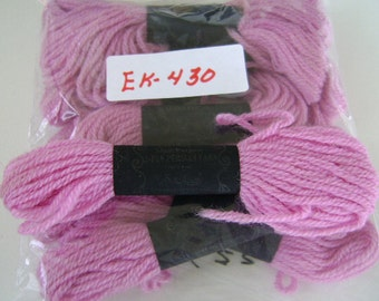 Yarn, Paragon, 100% Wool Crewel Needlepoint, Color #622 Thistle Pink, 8.8 Yards