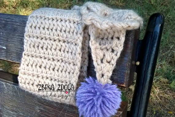 Little Mary Scarf Crochet Pattern Fall Crochet Winter