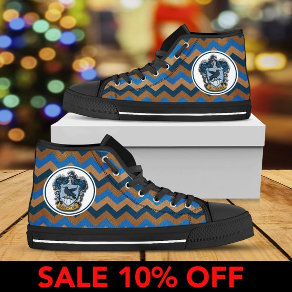 Huffflepuff Shoe Shoes High Shoes Harry Gryffindor Harry Potter Custom Custom Slytherin Hogwarts Ravenclaw Converse Gryffindor Top Potter 6x75aq0w