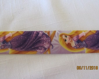 "Rapunzel  1"" Grosgrain Ribbon BTY"