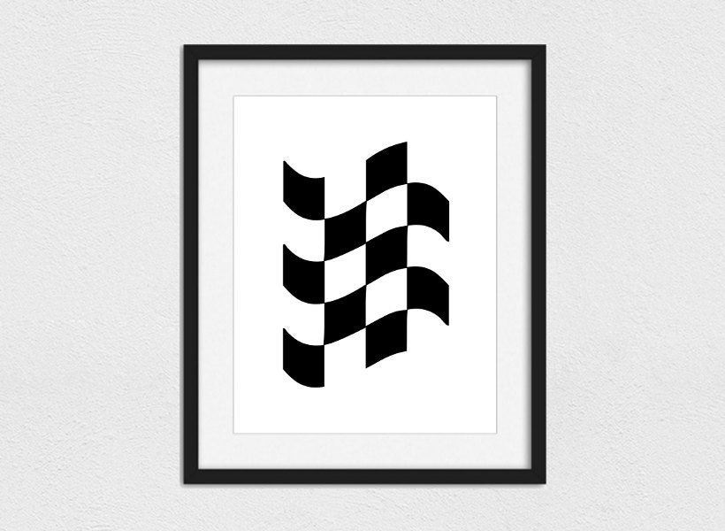 race flag printable // instant download // printing services, Powerpoint templates