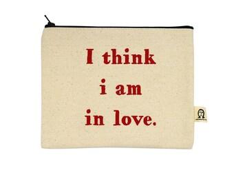 Ich denke, dass ich bin in Liebe Beutel