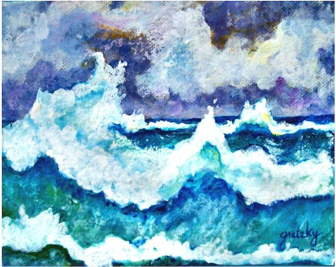 Stormy Sea Print