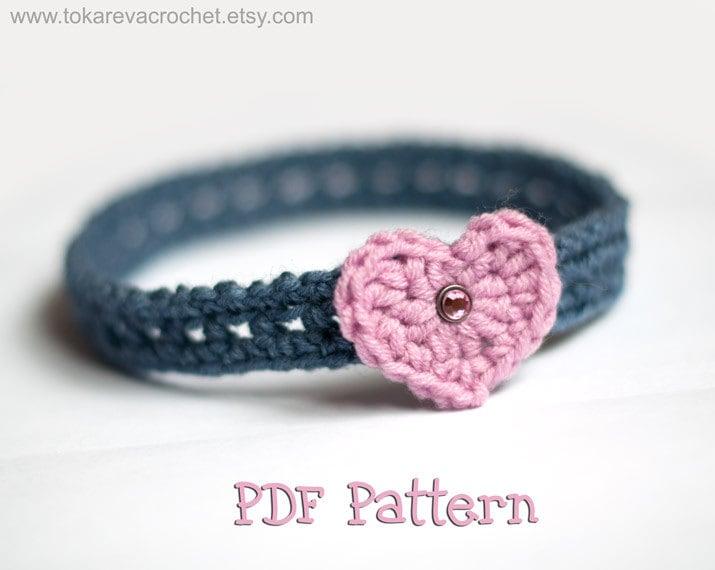 Crochet Pattern Baby Headband Baby Headband Crochet Pattern