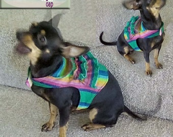 Mexican costume, Harness coat, harness dog, harness cat, harness rabbit, dog coat, cat coat, rabbit coat, dog dress, harnesses, puppy harnes