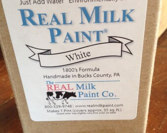 Soft White Real Milk Paint