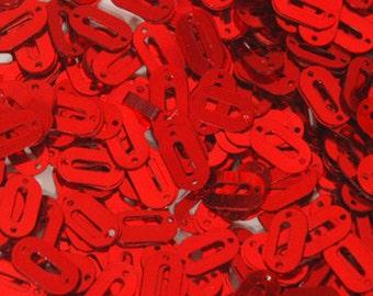 100 Sequins METALLIC........Red Color/ KBOS344