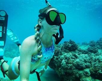 Parrotfish Purple 80 CM Real Life Mermaid Hair Tie