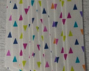 Confetti Fabric Washi Tape, 12 strips