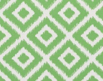 Green Ikat Fabric