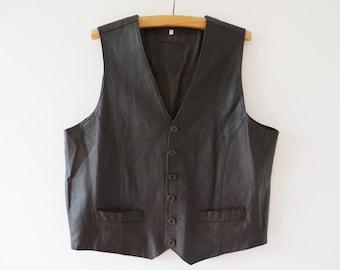 Vintage Vest Men's Pullover Vest Khaki Olive Forest Green Lined Distinctive Sportswear 50's 60's Mid Century Fashion Waist Pockets Medium 2Ogjovzu