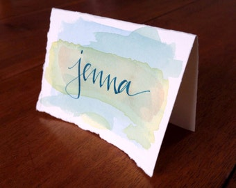 dinner party place cards (perfect for weddings and holidays)
