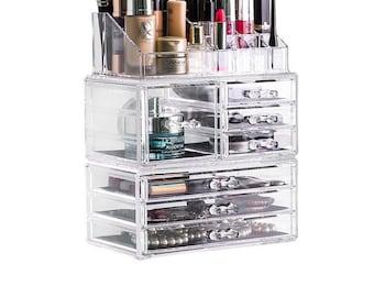 3 Tier Acrylic Makeup Organiser