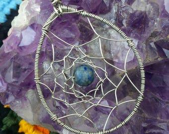 Lapis lazuli dream catcher