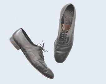 1930s Black Men's Dress Shoes