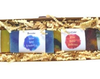 Harry Potter Hogwarts Soap set