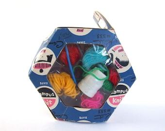 Vintage Knitting Spool Kit, Campus Knit by Davis