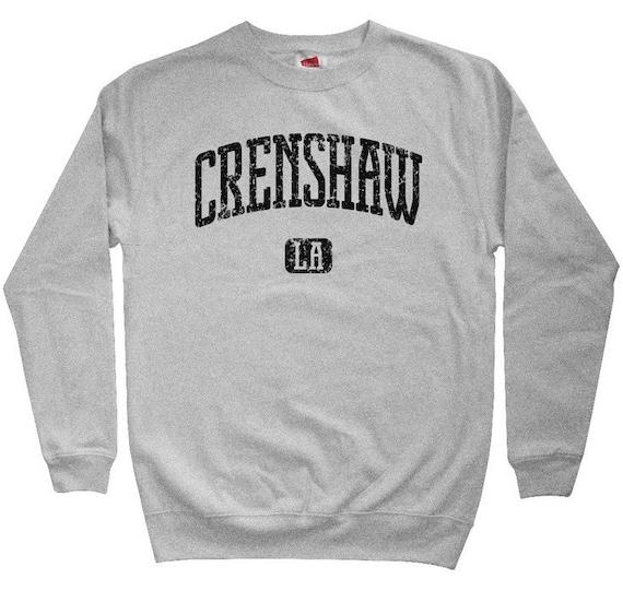 Crenshaw LA Hoodie - Los Angeles - Men S M L XL 2x 3x - L.A. Hoody Sweatshirt - 4 Colors g9NmD