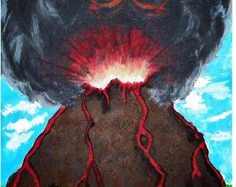 Rising Phoenix - Art Print A4