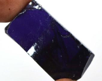 142.30 Ct Uncut Cambodian Voilet Zircon Gemstone Rough