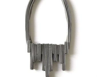 The Eclair Zipper Necklace