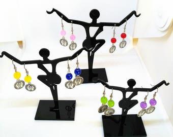 """""""Queen Elizabeth 2nd"""" earrings"""