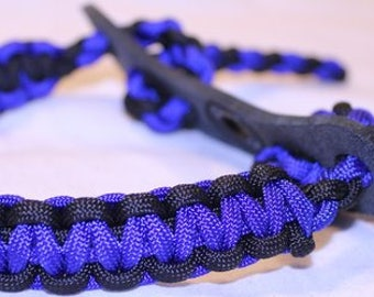 Bow Wrist Sling - Blue/Black - Lifetime Guarantee