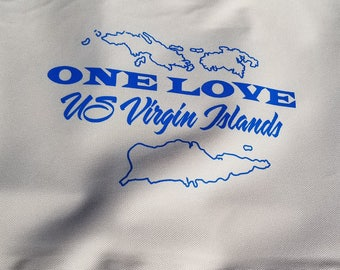 USVI One Love Tote Bag
