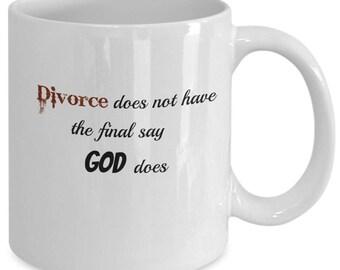 God has the final say Christian Coffee Mug