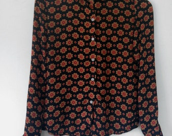 1970's Vintage Small Blouse