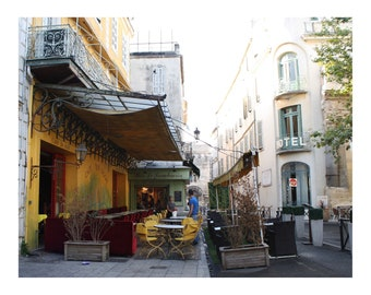 Yellow Cafe Arles France Photo Print