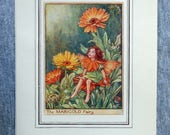 Marigold Flower Fairy Vin...