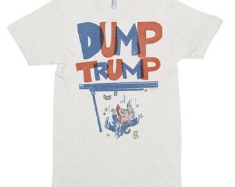Dump Trump - Made in USA Short sleeve soft t-shirt