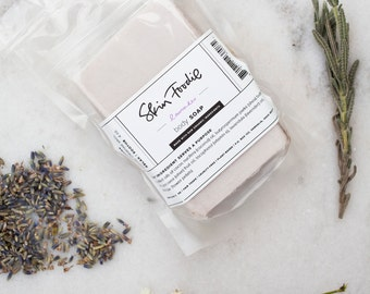lavender bar soap   organic   moisturize   relax    soothe