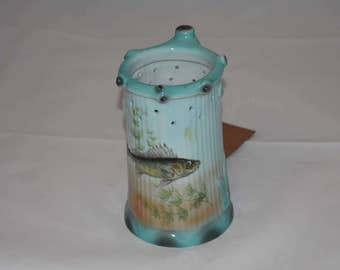 Gerold-Porzellan Puzzle Mug Stein with Fish