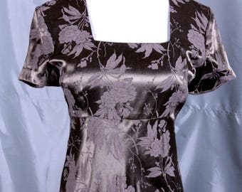 All That Jazz Brown Dress