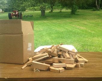 Cedar wood scraps for your closet
