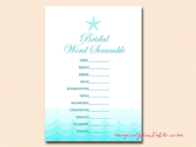 bridal shower gift bingo generator free blank