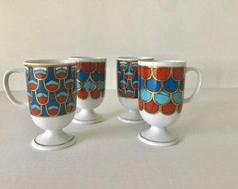 Vintage Mid Century Holt-Howard Mugs Set