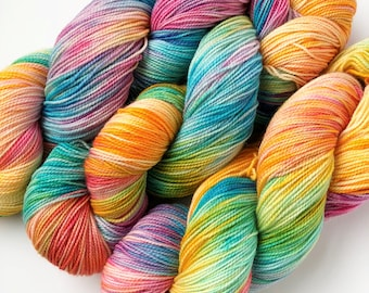 Cake By The Ocean - Dyed to Order Yarn - Hand Dyed Yarn - Sock Yarn - Choose Your Base