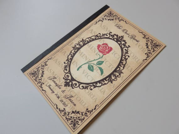 Storybook Wedding Invitation: Be Our Guest Fairytale Storybook Wedding Invitations